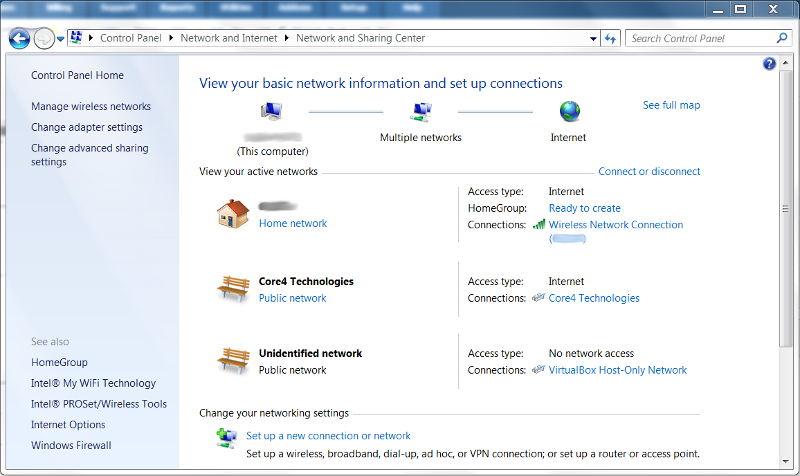 Windows 7 Basic VPN Configuration